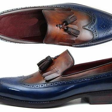 New Handmade Dress Leather Loafers ..