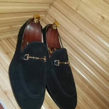 Handmade Best Suede Leather Loafers..