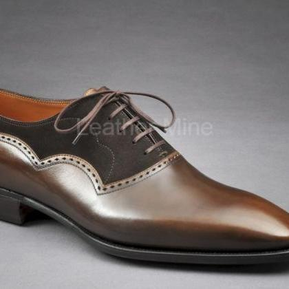 Men's Handmade Leather Shoes, Genui..