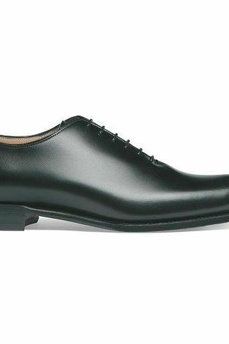 Handmade Men Genuine Leather One Piece Formal Wedding Laced Shoes