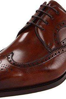 New Handmade Men Brown wingtip brogue formal shoes, Handmade Men brown dress shoes Mens shoes