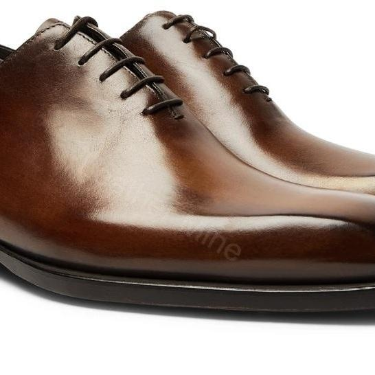 Oxfords Leather Shoes Mens,Handmade Genuine Leather Shoes For Men